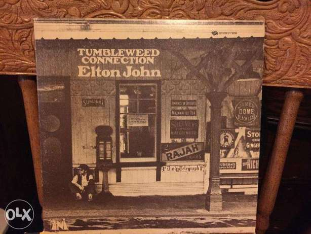 Elton John - Tumbleweed Connection vinyl lp
