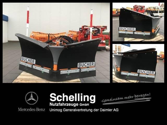 Bucher Unix - Schneeplug - Vario - Keilpflug - - 2018