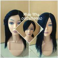 Black braided Wig