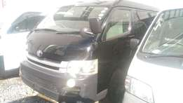 Brand new Toyota Hiace Van with factory seats