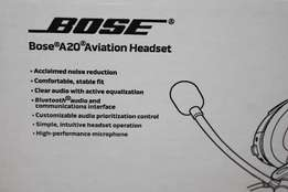Bose A20 Aviation Headset With Bluetooth and Dual GA plugs