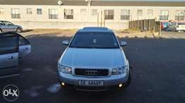 Audi A4 slightly negotiable