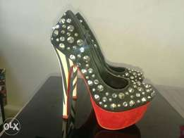 Where can these heels be found