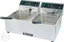Double frier stainless