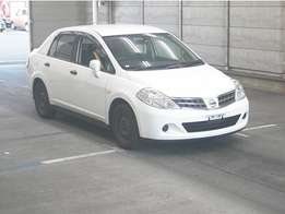 Nissan Tiida Latio 2010 model Automatic White color