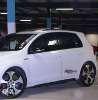 Golf 6 GTI 18 inch Mags Rims and Tyres for sale