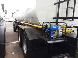 Man water tanker with brand new 18000l tanker for sale