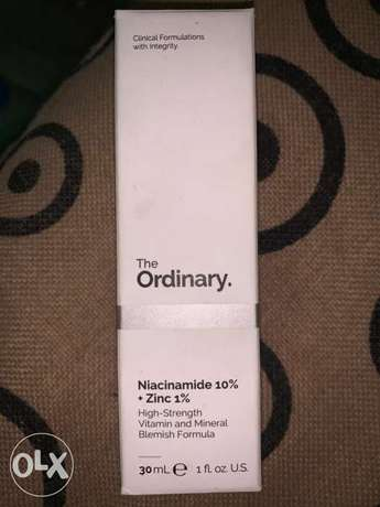 the ordinary niacinamide face glowing and acne treatment serum