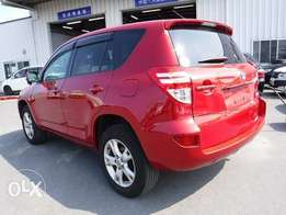 Rav4 red colour kcn