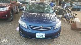 Clean Registered corolla 2010