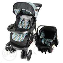 Chelino Coyote pram and car seat