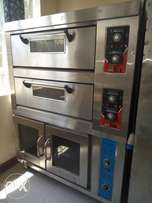 Baking OVEN, 2 deck with a proffer.