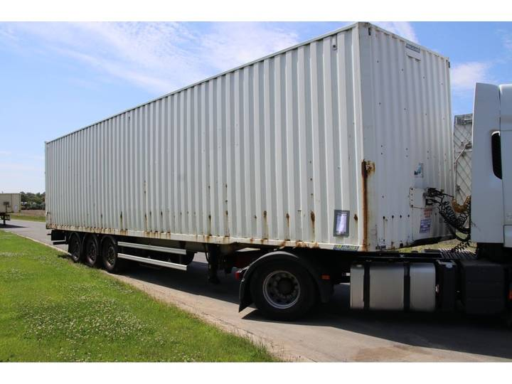 Lecitrailer FOURGON - CONTAINER - STEEL - 2006