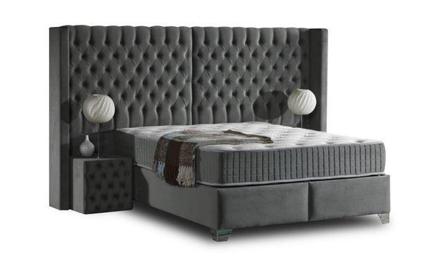 Luksusowe łóżko Kontynentalne Lord Duży Wybór Tkanin