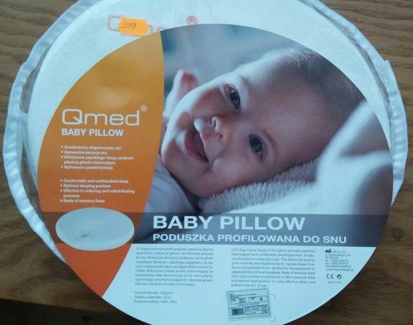 b1e797d7cf4c93 Poduszka profilowana dla niemowląt Qmed Baby poduszka ortopedyczna now  Kędzierzyn-Koźle - image 1