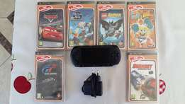 Sony PSP with 6 Games