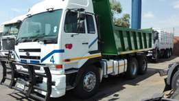 Used 2008 Nissan UD440 Tipper Truck For Sale!