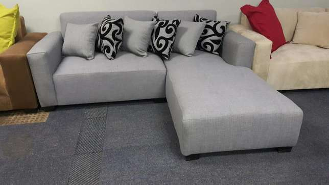 The jozi l-shape,choose your fabric and colour Midrand - image 3