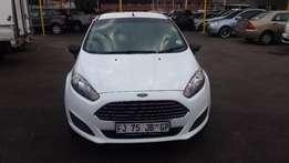 2016 White Ford Fiesta 1,4 for sale