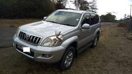 Toyota Prado with sunroof very clean trade in accepted