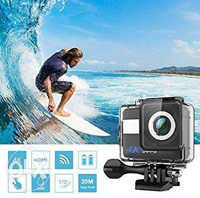 4K Sport Action Camera,1080P Ultra HD Camcorder,Underwater 30M