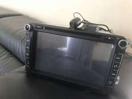 Dvd system for VW/Toyota
