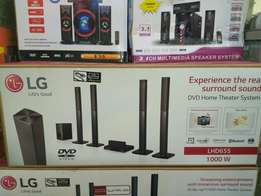 LG Hometheater 1000w