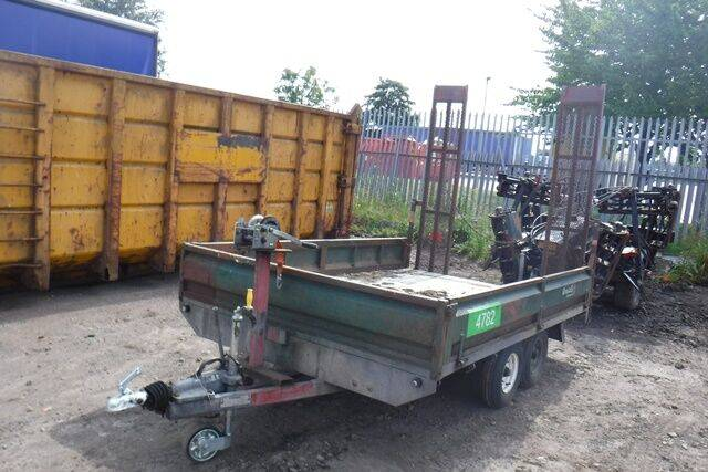 nortrail plant beavertail dropside low loader  for sale by