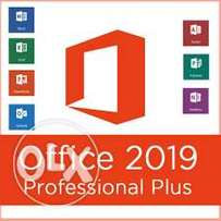 Office 2019 pro plus Genuine with free installation