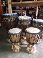 selling African authentic djembe drums