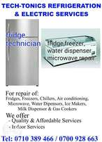 Refrigeration Services(Fridge repairs)