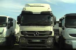 just arrived with a very low mileage mercedes actros 2644 for sal