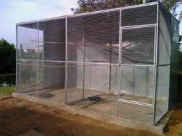 NEW 3,6M Double Walk-in Avairy Setup