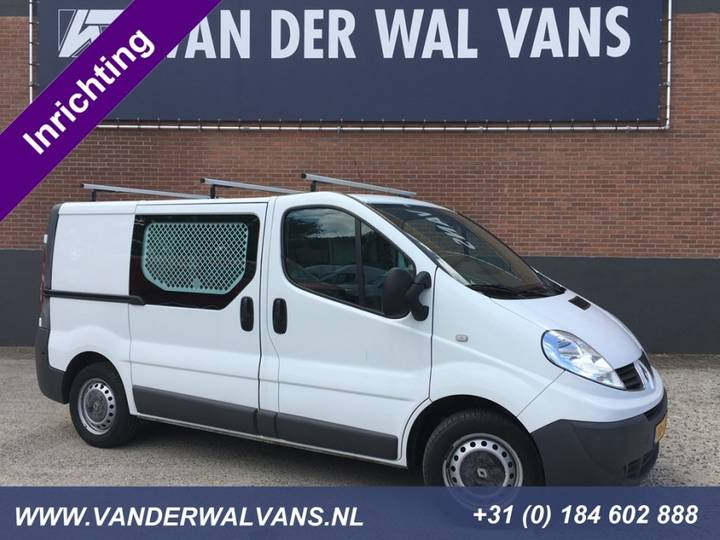 Renault Trafic 2.0dCi L1H1 *Inrichting* Airco, Trekhaak - 2013