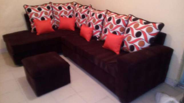 Sofa L seat six seater at a reasonable price Nakuru East - image 3
