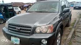 Extremely sharp and sound 2003 Highlander limited with chilling AC
