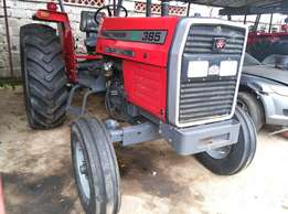 2016 Model 385 2WD Massey Fergurson Tractor,85HP,3disc plough Weight