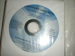 Recovery dvd ASUSTeK Computer Inc N2500 V1.3 Windows Vista