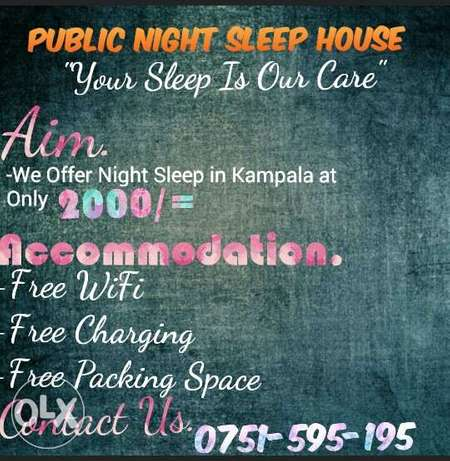 Public Night Sleep House Kampala - image 2