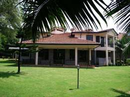 Runda 5 bdrm double storey house: To let