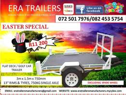 Golf cart trailer for sale sabs approved