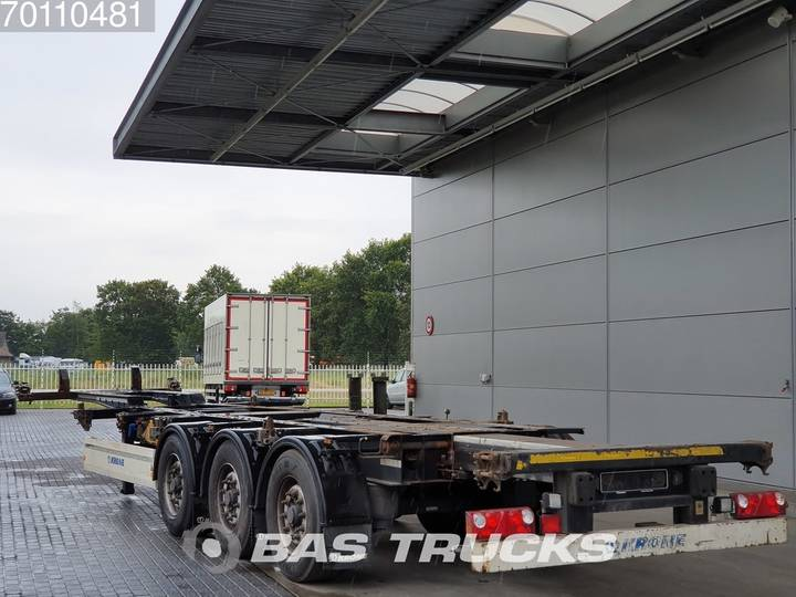 Krone 2x20-1x30-1x40ft. 3 axles Ausziehbar Extending Chassis - 2012 - image 2