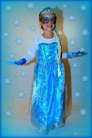 e17dad3afc SUKIENKA ELSA Kraina Lodu Frozen r.120