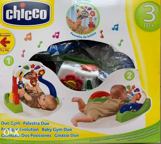 Chicco Duo Gym play for babies