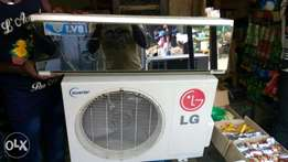 Almost brand LG Inverter 1.5 Split AC used by a white man at ikoyi