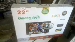 "Golden teck TV 22"" digital"