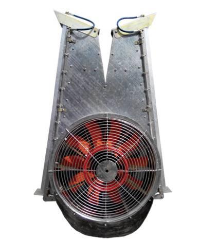 "Вентиляторная группа, тип ""шахта""/ Fan Group (shaft type) - 2018"