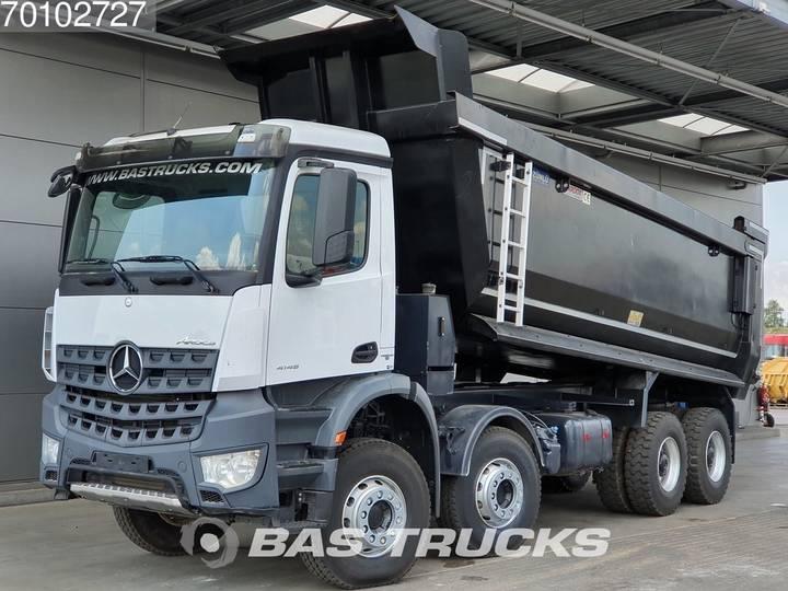 Mercedes-Benz Arocs 4145 S 8X4 Big-Axle Steelsuspension 28m3 Hydraulik ... - 2018