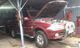 Ssangyong as is