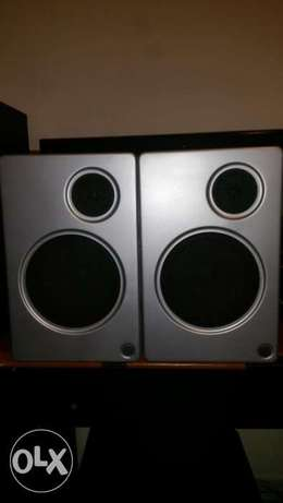 WEGA bookshelf Speakers 2 Way - صوتيات - سبيكرات - samartaudio